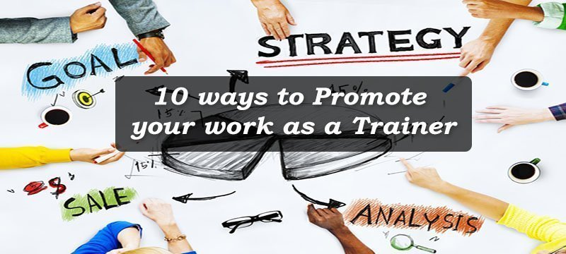 Ways to promote training programs -