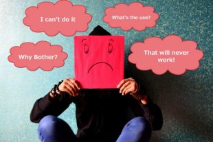 What is Learned helplessness - learned helplessness