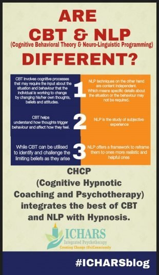 CBT NLP different same - NLP and CBT