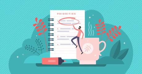 set your priorities - Work-Life Balance