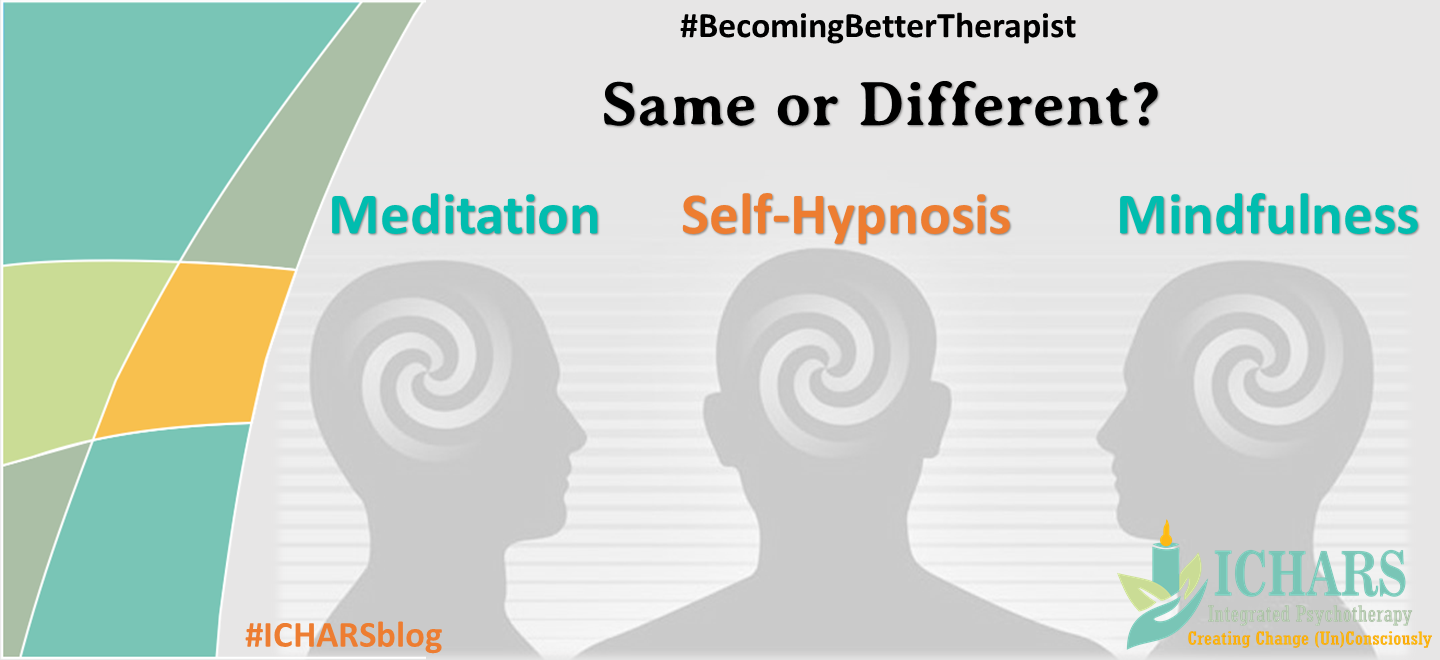 - Mindfulness, Self Hypnosis and Meditation – Distant Cousins?