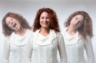 girl different moods - Bipolar Disorder