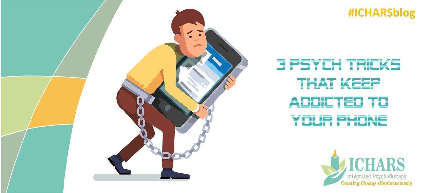 Mobile addiction  - 3 Psych Tricks that keep you Addicted to Your Phone