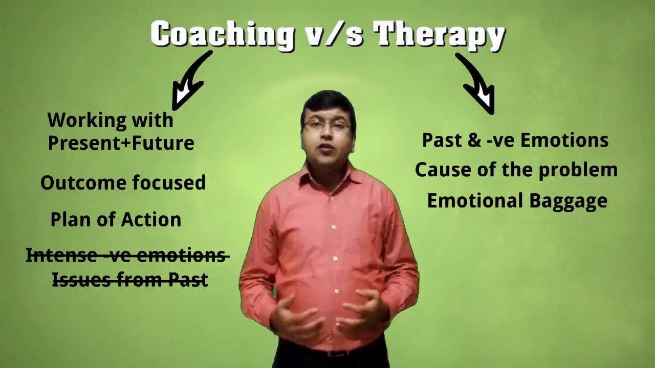 Coaching vs Therapy - Coaching vs Therapy